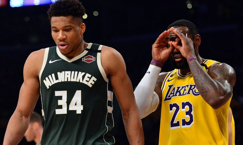 Report: Giannis Antetokounmpo turned down offers to work out with LeBron  James and be in new Space Jam - Lakers Daily