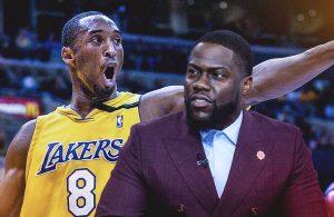 Kobe Bryant and Kevin Hart