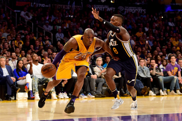 Shelvin Mack and Kobe Bryant