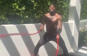 LeBron James Instagram Workout