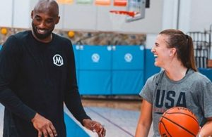 Kobe Bryant and Sabrina Ionescu