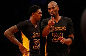 Lou Williams and Kobe Bryant