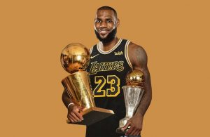 LeBron James Lakers Championship