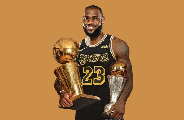 LeBron James Lakers Championship