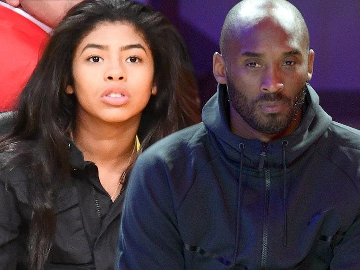 Gigi and Kobe Bryant