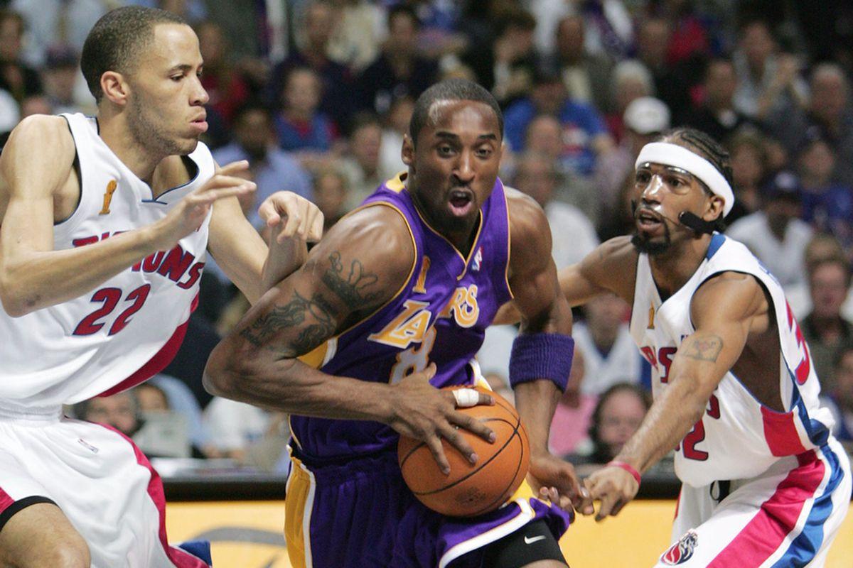 Kobe Bryant Detroit Pistons