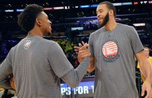 Nick Young and JaVale McGee