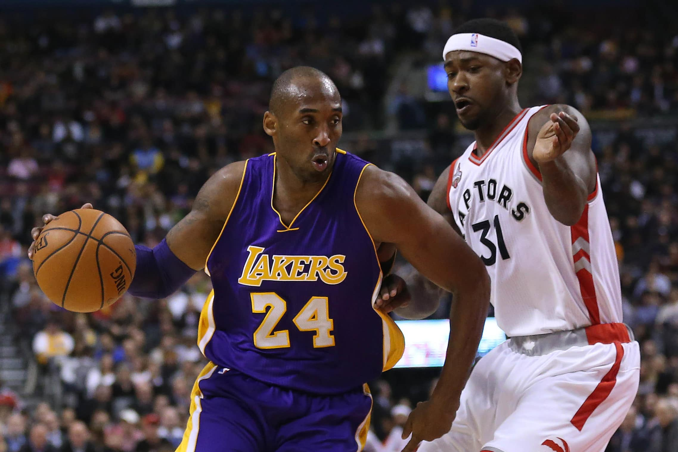 Kobe Bryant and Terrence Ross