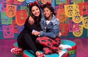 Vanessa Bryant and Gianna Bryant