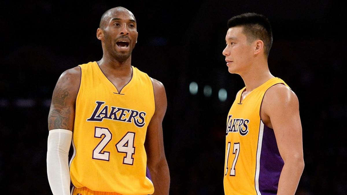 Kobe Bryant and Jeremy Lin