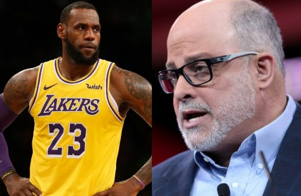 LeBron James and Mark Levin