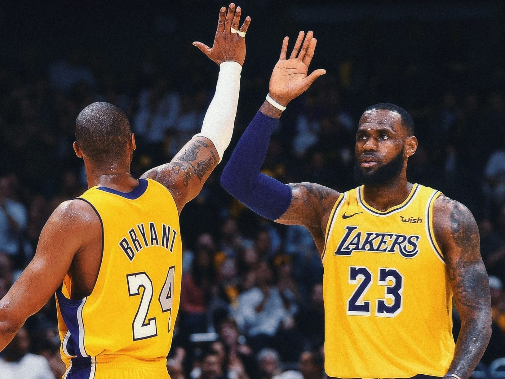 LeBron James Reacts to Passing Kobe Bryant, Tim Duncan and Kareem Abdul-Jabbar