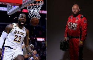 LeBron James and Ray Ciccarelli