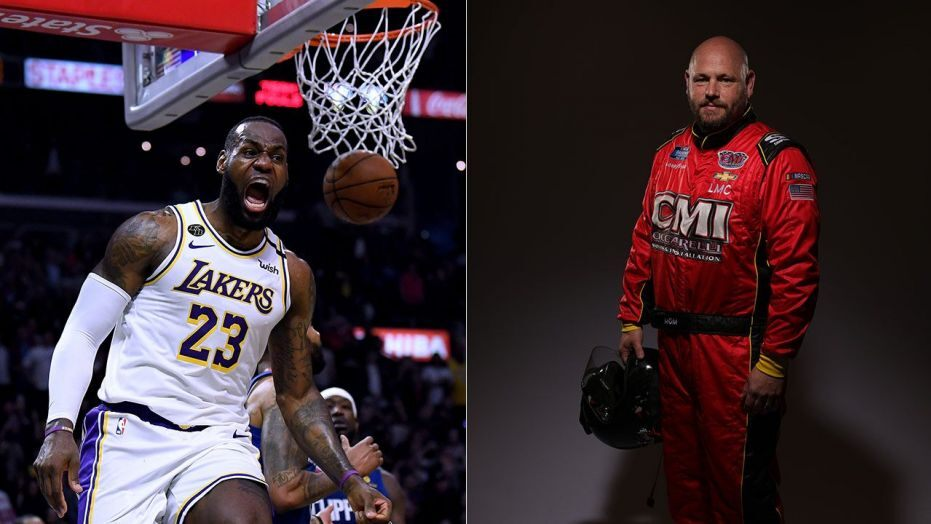 LeBron James and Ray Ciccarelli