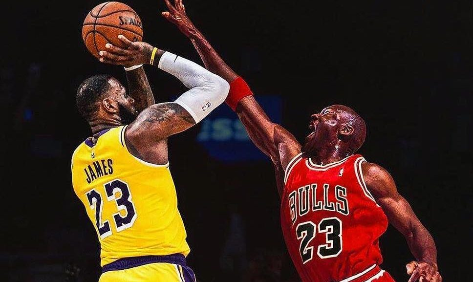 Th basura Aliviar  J.R. Smith on Michael Jordan vs. LeBron James: 'Can't Compare a Lion and a  Tiger' - Lakers Daily