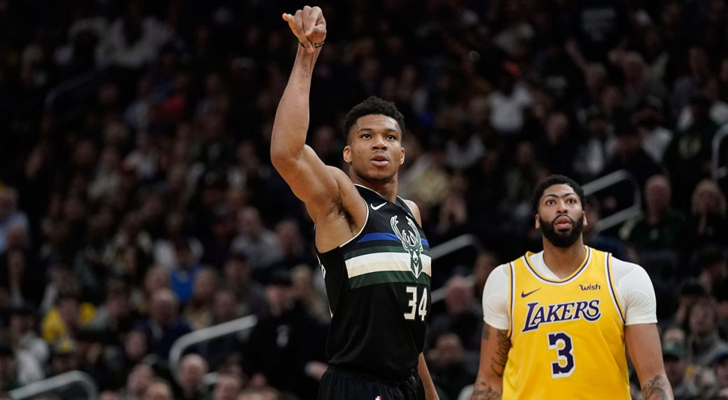 Giannis Antetokounmpo and Anthony Davis