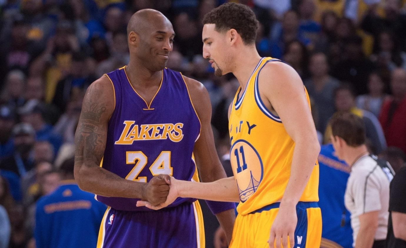 Kobe Bryant and Klay Thompson