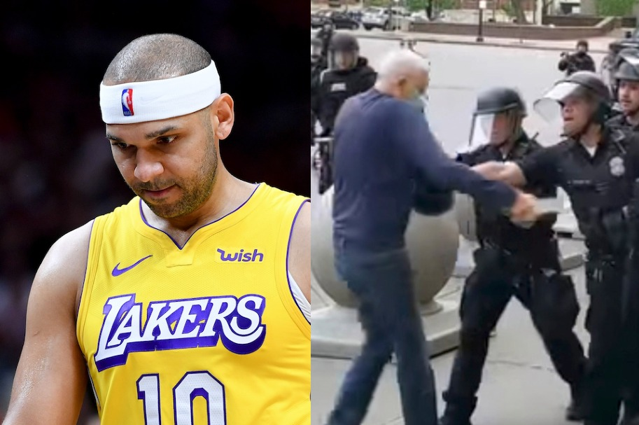 Jared Dudley and Buffalo Police