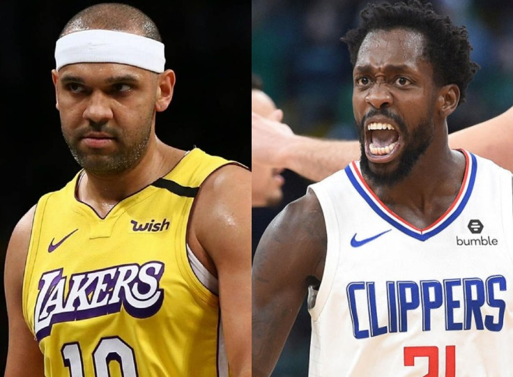 Jared Dudley and Patrick Beverley