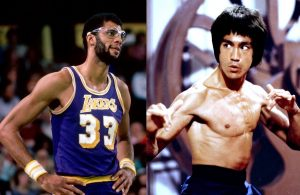 Kareem Abdul-Jabbar and Bruce Lee