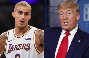 Kyle Kuzma and Donald Trump
