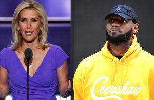 Laura Ingraham and LeBron James