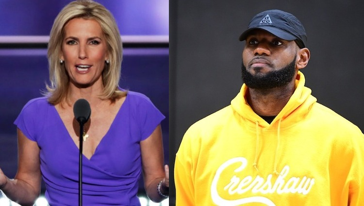 Laura Ingraham and LeBron James
