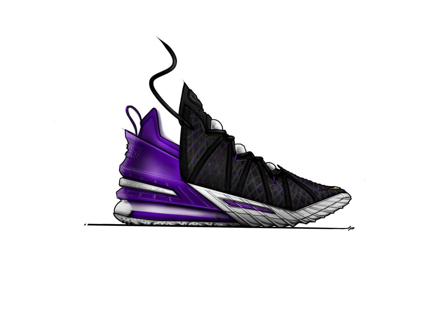 LeBron James Nike LeBron 18