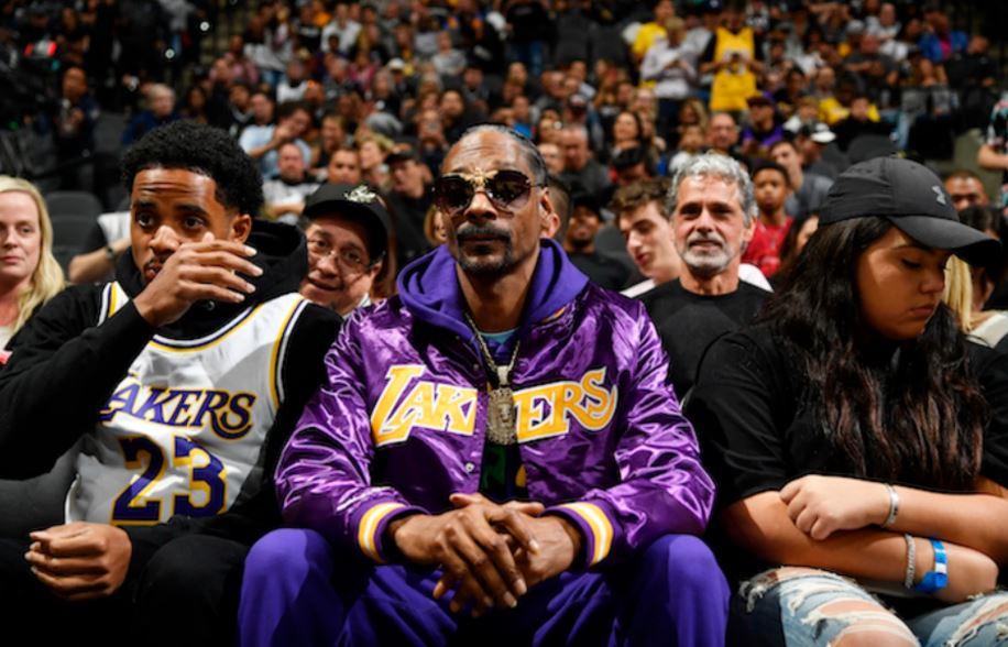 Snoop Dogg Lakers