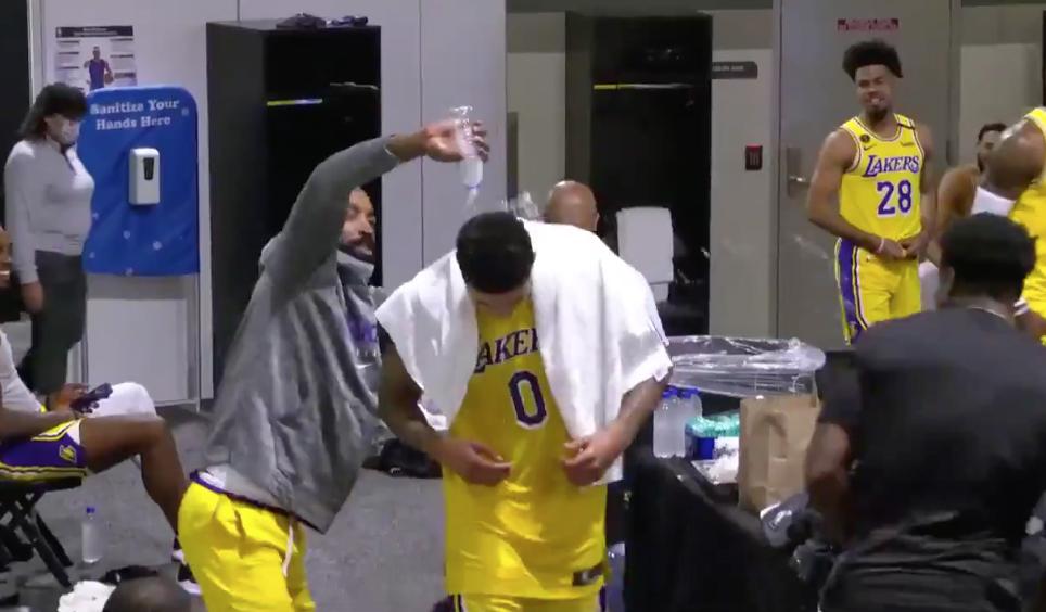 庫茲馬絕殺後霸氣宣告全聯盟:我可以在任何隊打先發,但湖人有兩個更優秀的男人!(影)-黑特籃球-NBA新聞影音圖片分享社區