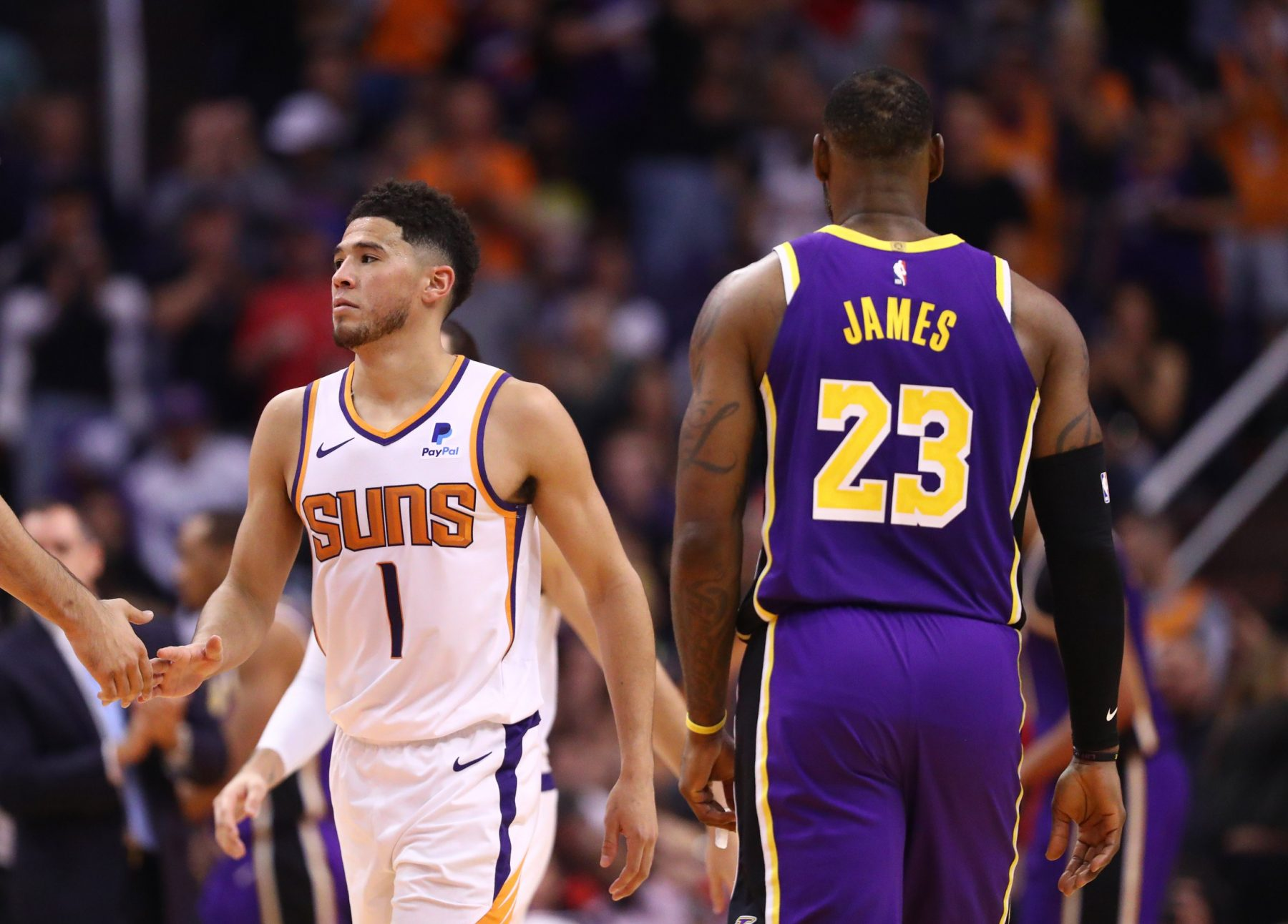 Lakers Superstar LeBron James Salutes Devin Booker With Emphatic Shout-Out After His Incredible Buzzer-Beater - Lakers Daily