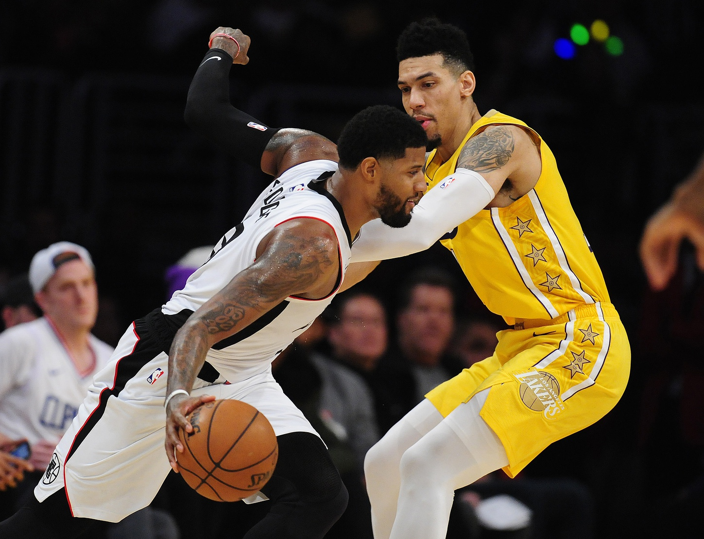Video Lakers Guard Danny Green Explains Why He Feels Sorry For Paul George Lakers Daily
