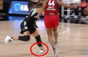 Sabrina Ionescu Injury