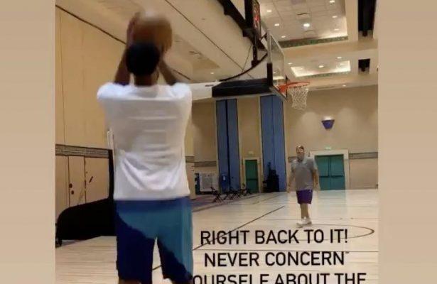 Anthony Davis Practice