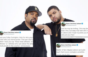 Ice Cube and His Son