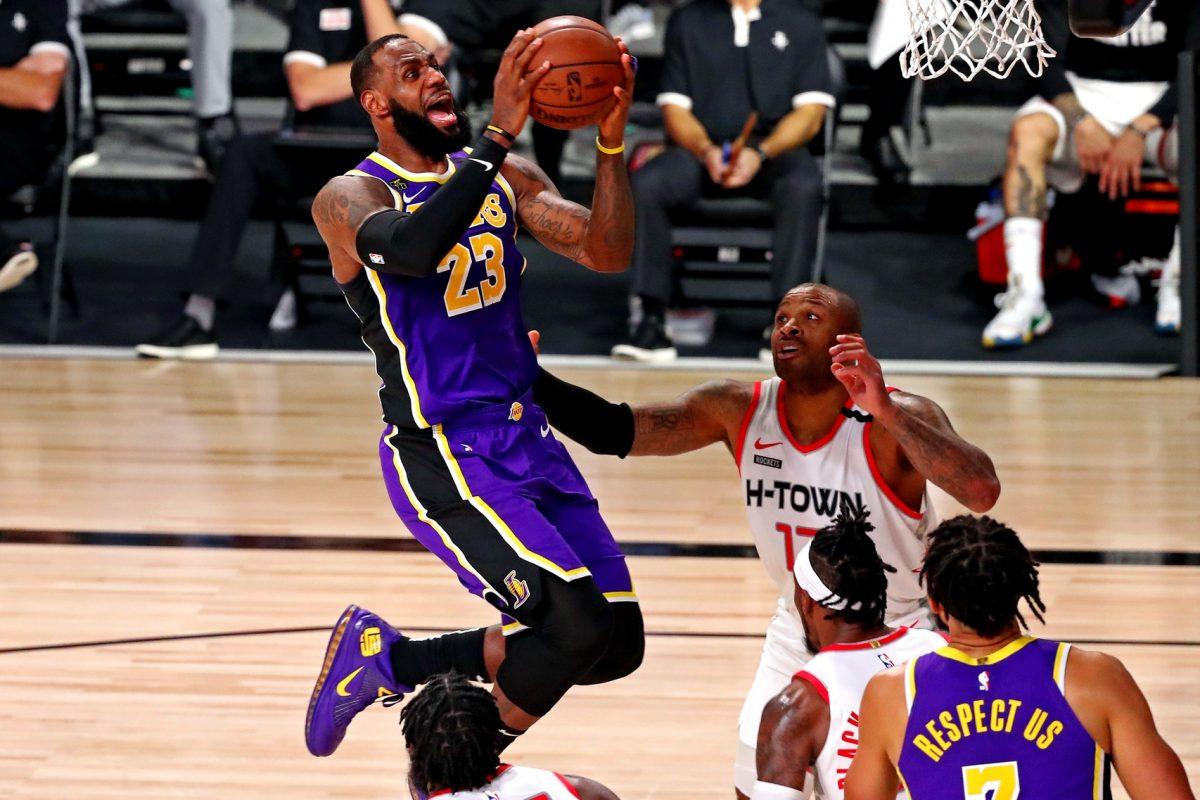 LeBron James Rockets