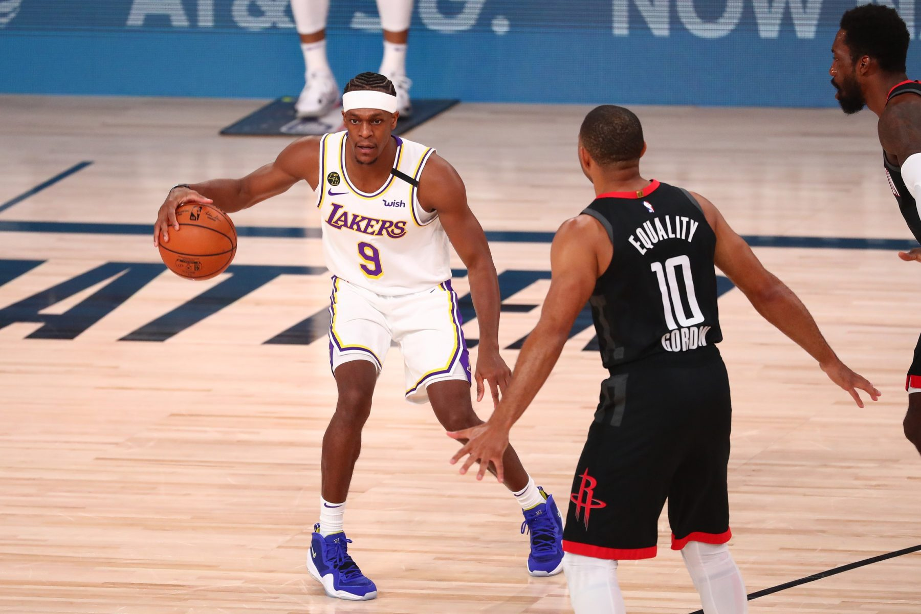 Lakers Provide Worrisome Update on Rajon Rondo Ahead of Game 1 vs. Nuggets