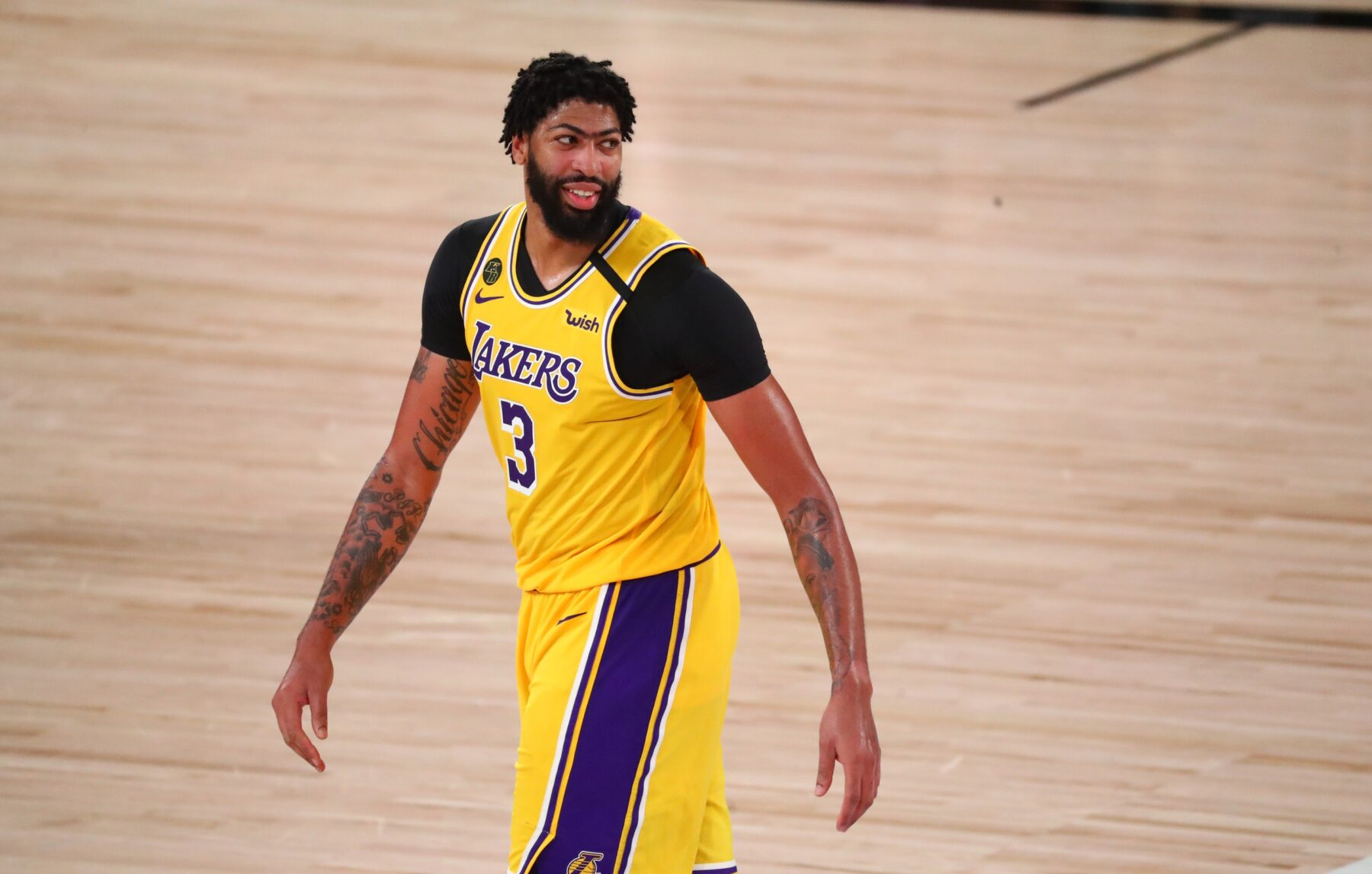 Anthony Davis Comments on Los Angeles Clippers Choking to Denver Nuggets