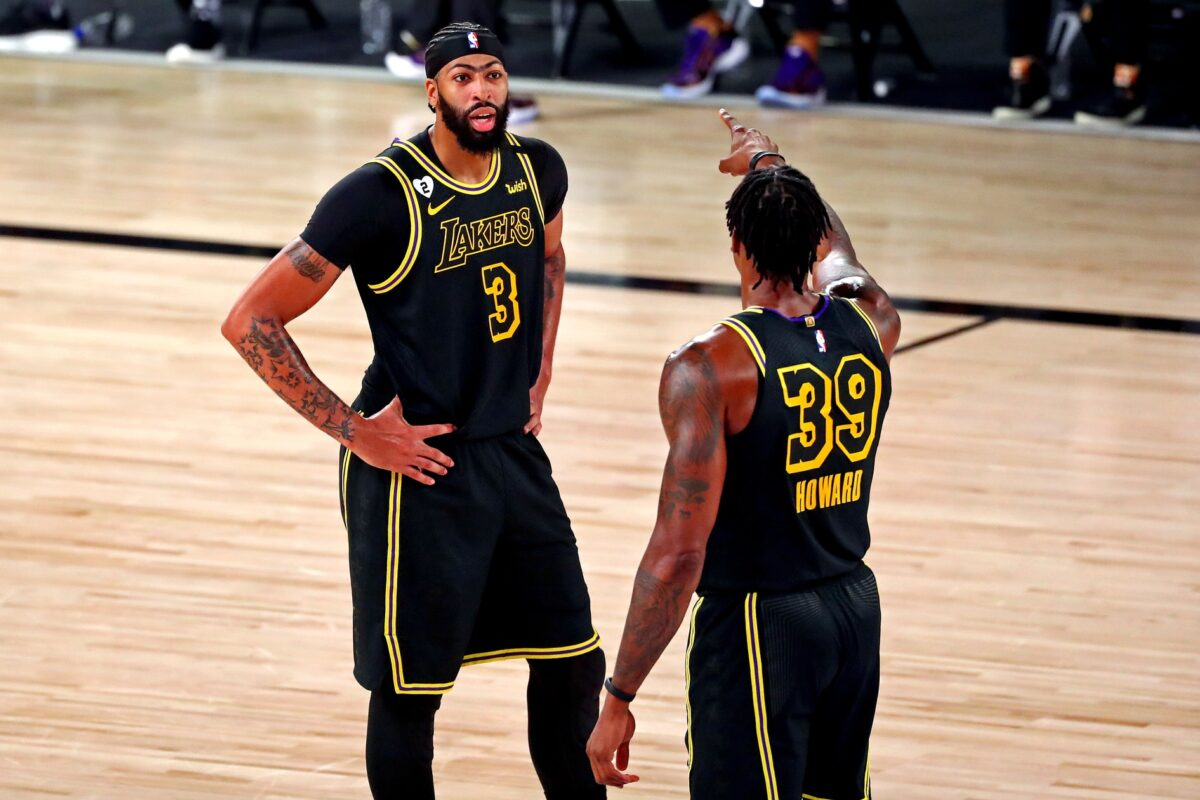 Anthony Davis and Dwight Howard