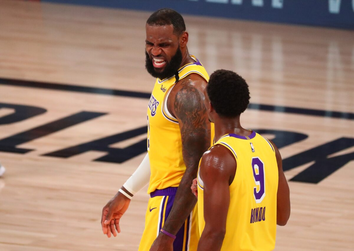 Rajon Rondo Explains How Game changing Adjustment LeBron James Made Led Lakers To Victory In Game Lakers Daily