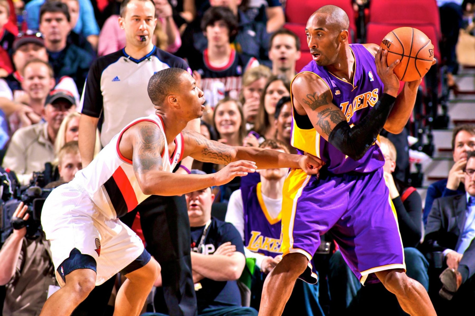 Damian Lillard and Kobe Bryant