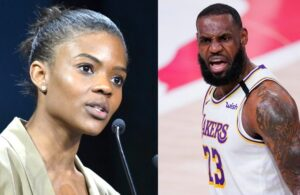 Candace Owens and LeBron James