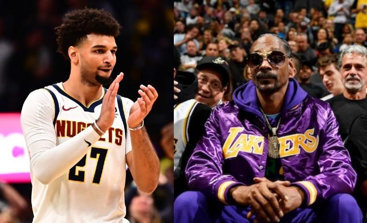 Jamal Murray and Snoop Dogg