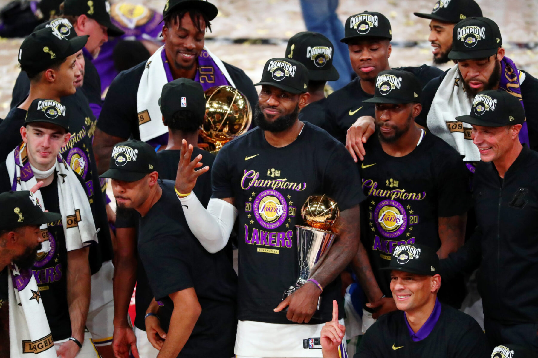 LeBron James Lakers Title