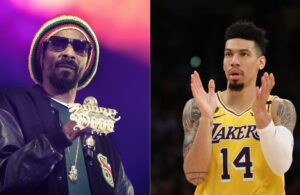 Snoop Dogg and Danny Green