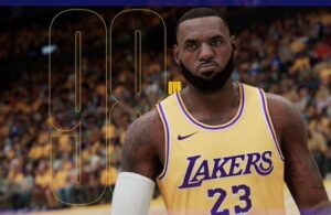 LeBron James NBA 2K21