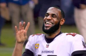 LeBron James Tampa Bay Buccaneers