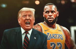 Donald Trump and LeBron James
