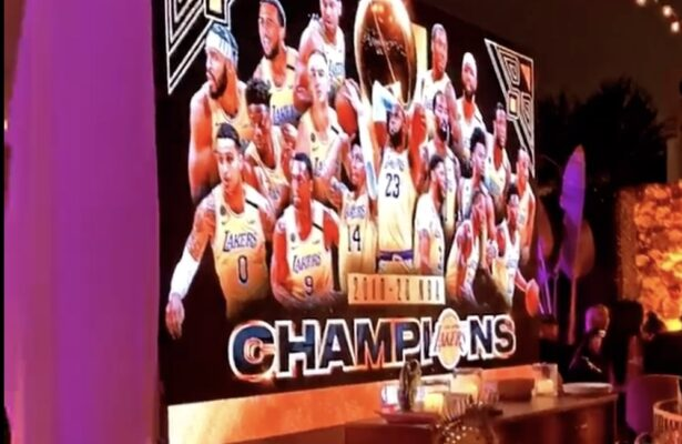 Lakers Party in Los Angeles