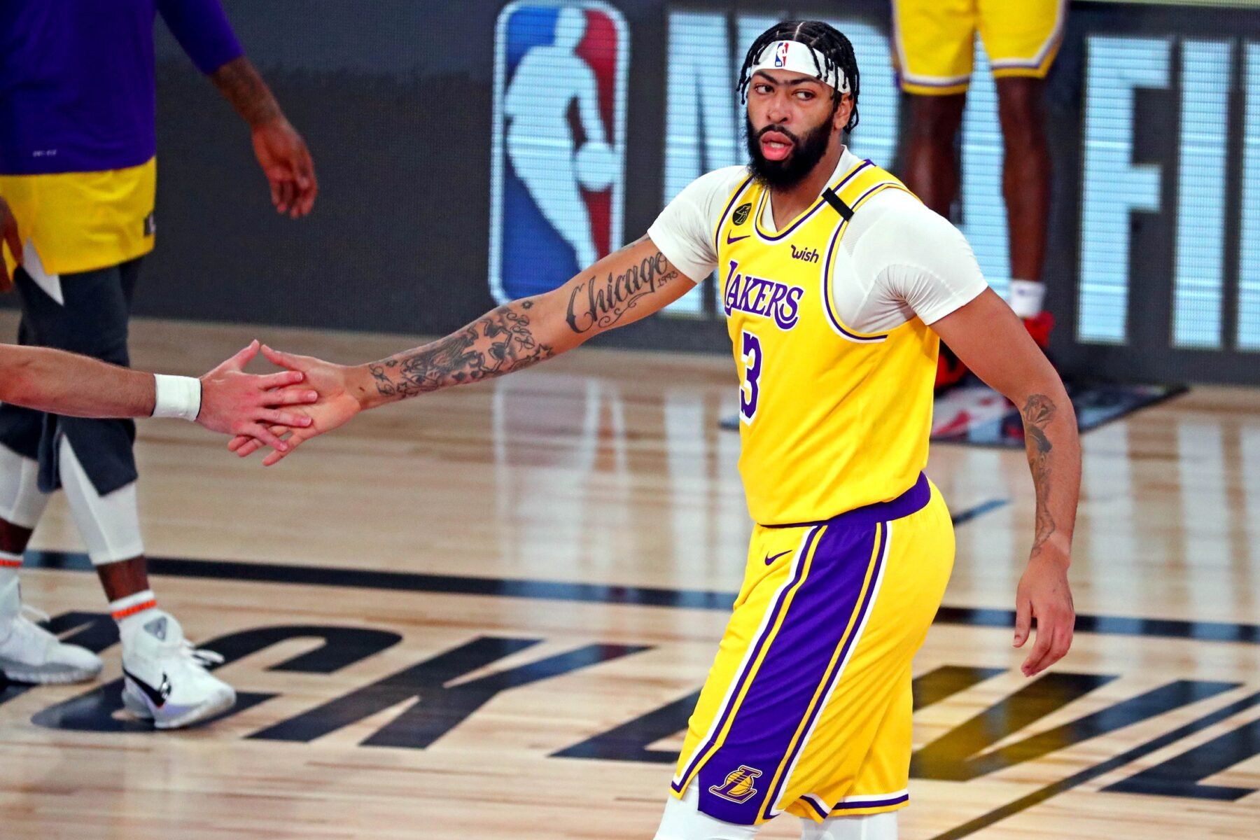 Markieff Morris Says Anthony Davis Not Lebron James Best Player In The World Lakers Daily